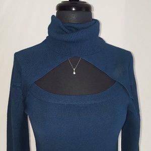 Sapphire Bodycon Sweater Dress